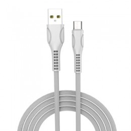 Дата кабель ColorWay USB 2.0 AM to Micro 5P 1.0m line-drawing white (CW-CBUM028-WH)